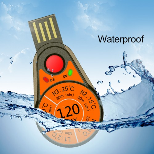 RC-55 Single Use Temperature Data Logger
